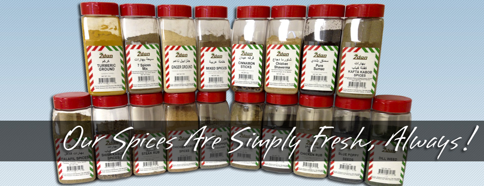Our Spices Are Simply Fresh, Always!